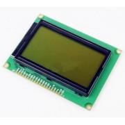 Графический дисплей 12864ZW черное изображение / зеленая подсветка