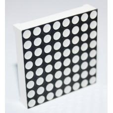 Светодиодная матрица красная 8x8 (LED Dot Matrix) 1588BS 37x37 мм