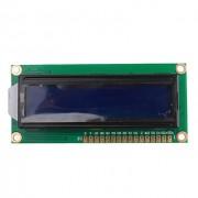 Символьный дисплей QC1602A LCD module (синяя подсветка)