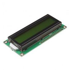 Символьный дисплей 1602A LCD module (желто-зеленая подсветка)