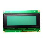 Символьный дисплей QC2004A LCD module (желто-зеленая подсветка)