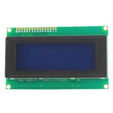 Символьный дисплей QC2004A 20x4 LCD module (синяя подсветка)