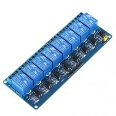 8-канальный реле модуль