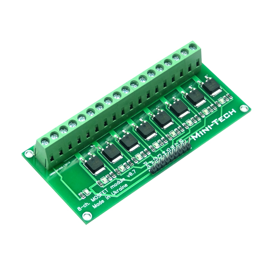 8-канальный MOSFET модуль
