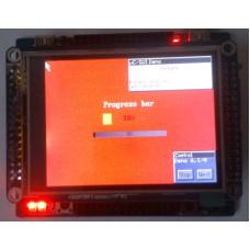 "ARM плата на STM32F103RBT6 + 2.8"" TFT LCD"