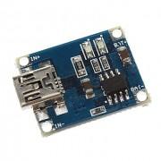 Контроллер заряда Li-Ion аккумуляторов на базе TP4056 mini