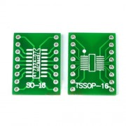 Плата-переходник SO-16 / TSSOP-16 to DIP-16 Adapter