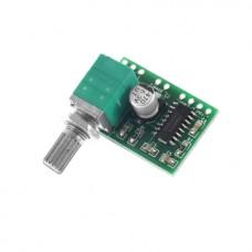 Усилитель звуковой D-класса PAM8403 2x 3Вт с регулятором громкости