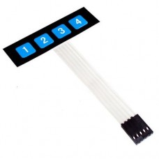 Матричная клавиатура 1x4 (4 клавиши)
