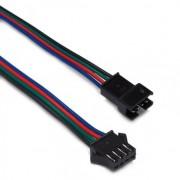 Комплект JST коннекторов  папа+мама с проводами 4pin
