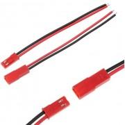 Комплект JST-SYP коннекторов  папа+мама с проводами 2pin