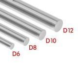 Линейная направляющая (вал) D-12мм, длина-500мм