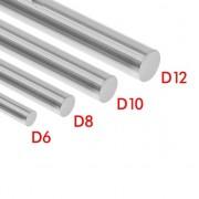 Линейная направляющая (вал) D-8мм, длина-400мм