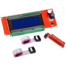 Панель управления 2004 LCD для RAMPS (3D принтер / ЧПУ)