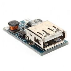 DC-DC конвертер повышающий 0.9...5В в 5В с USB-разъемом (600 мА макс.)