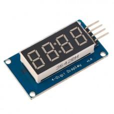 Дисплей из четырех семисегментных индикаторов на чипе TM1637