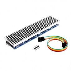 Модуль на четыре матрицы 1088AS с драйверами MAX7219 (SMD)
