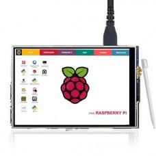 """Дисплей TFT 3.5"""" 320x480 для Raspberry Pi (сенсорный)"""