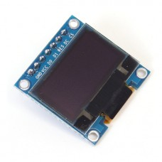 "OLED SPI графический дисплей 0.96"" 128x64"