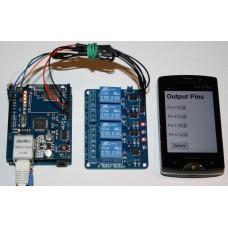 Контроллер нагрузок через Ethernet на базе Arduino Uno R3
