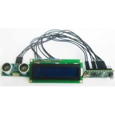 Ультразвуковой дальномер на базе DCCduino Nano с символьным дисплеем