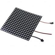 Светодиодная гибкая матрица (панель) 16x16  WS2812B (256 RGB светодиода)
