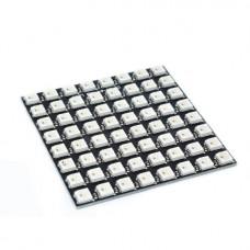 Светодиодная матрица 8x8  ws2812b (64 RGB светодиода)