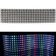 Светодиодная гибкая матрица (панель) 8x32  WS2812B (256 RGB светодиода)