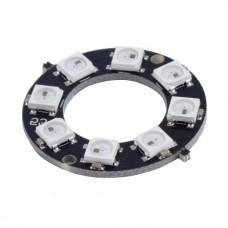 NeoPixel кольцо 8 RGB LED WS2812B с адресацией
