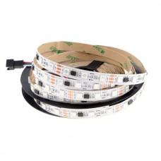 Светодиодная лента с адресацией WS2811 RGB (60 LED / 1метр) 12В