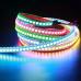 Светодиодная лента с адресацией WS2812B RGB (144 LED / 1метр)