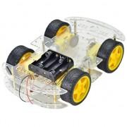 Четырехколесная 4WD платформа для робота