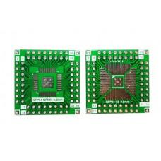 Плата-переходник QFP32-64 / QFN64 to DIP-64 Adapter