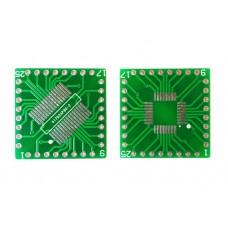 Плата-переходник QFP32 / TQFP32 / SOP32 / SSOP32 to DIP32 Adapter