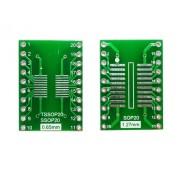 Плата-переходник SOP20/ TSSOP20 to DIP20 Adapter