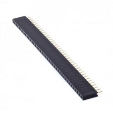 PBS-40 разъем гнездовой 40 pin 2.54 мм