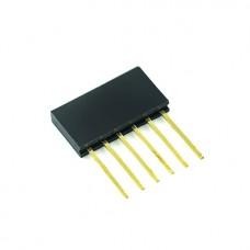 PBS-6L разъем гнездовой 6 pin 2.54 мм