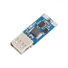 DC-DC конвертер понижающий 7...28В в 5В с USB-разъемом (3А макс.) на MP1584