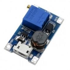 DC-DC конвертер повышающий 2...24В в 5...28В на MT3608 micro-USB