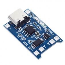 Контроллер заряда Li-Ion аккумуляторов на базе TP4056 Type -C