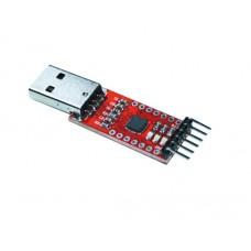 USB-UART / USB-TTL конвертер на чипе CP2102 v2