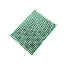 Макетная плата FR-4 6x8 см