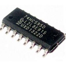74HC595D - выходной сдвиговый регистр