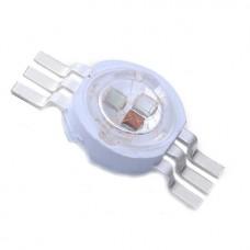 3W (3 x 1W) RGB LED шестивыводной