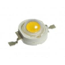 1W LED белый теплый