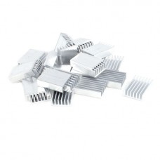 Радиатор алюминиевый 30х20х6 мм