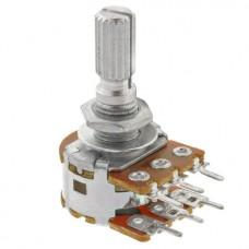 Резистор переменный 10 кОм (kOhm) B10K stereo