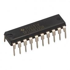 TPIC6B595N - выходной сдвиговый регистр высоковольтный 50В / 150мА