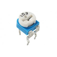 Резистор подстроечный 10 кОм (kOhm) RM-065