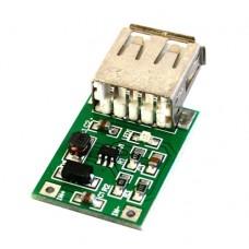 DC-DC конвертер повышающий 0.9...5В в 5В с USB-разъемом (600 мА макс.) v.2